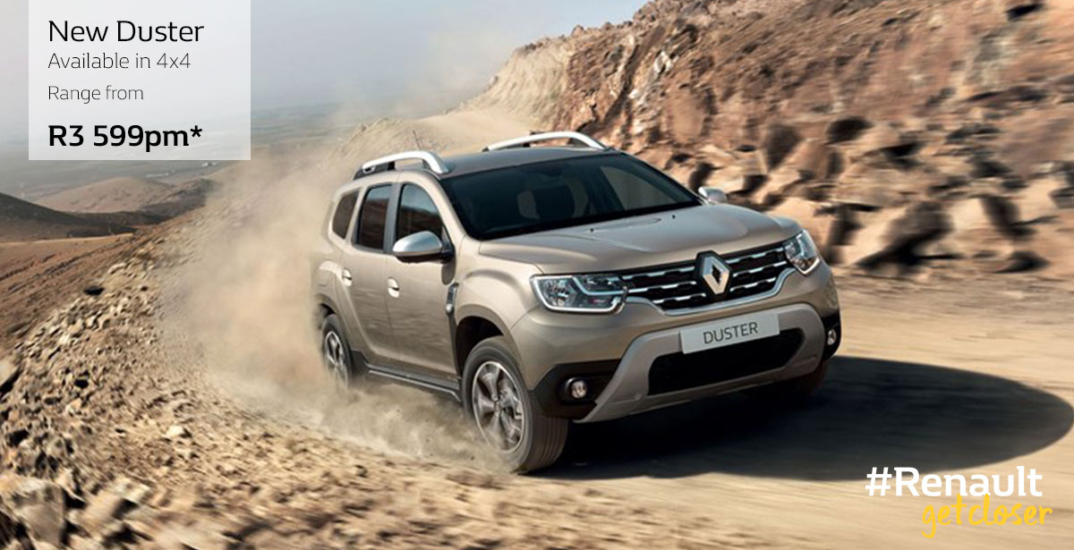 Renault DUSTER Home Page Slider Ig W1200 H615